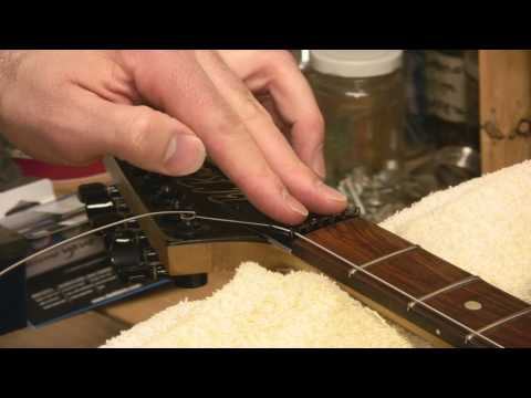 How To Re-String A Floyd Rose