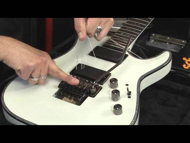 TECH TIP: Restringing Your Floyd Rose Guitar