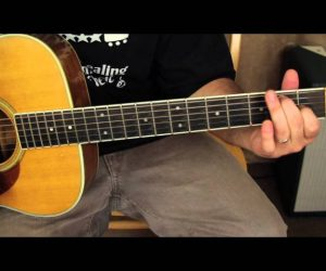 David Bowie – Space Oddity – Acoustic Songs Guitar Lessons – Tutorial