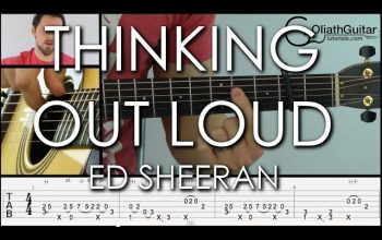 Thinking Out Loud – Ed Sheeran – Fingerstyle Guitar Lesson & Tabs