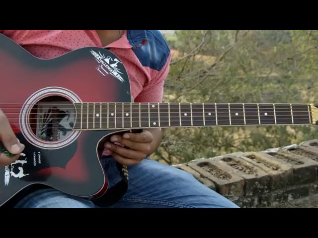 'HINDI'- Easy Guitar Lesson For Beginners  Lesson 1-2017