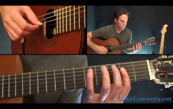 The Unforgiven Guitar Lesson – Metallica – Acoustic Guitar Parts