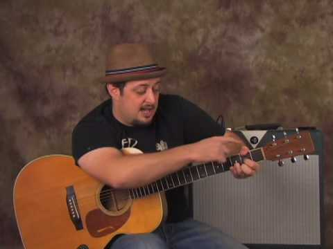 Dave Mathews – Gravedigger – How To Play Acoustic Guitar Lesson – Tutorial