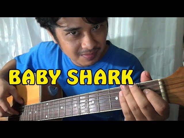 Guitar Tutorial: Chords Of Baby Shark Challenge Song – Pareng Don